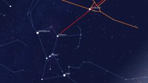 Orione costellazione Artemide