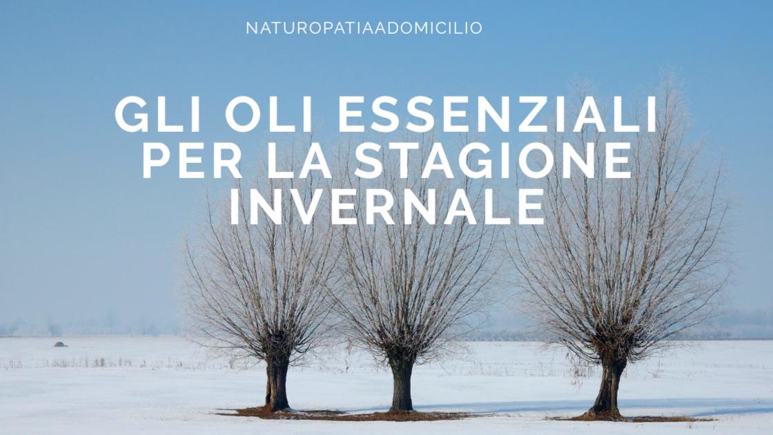Oli Essenziali Inverno Sistema Immunitario