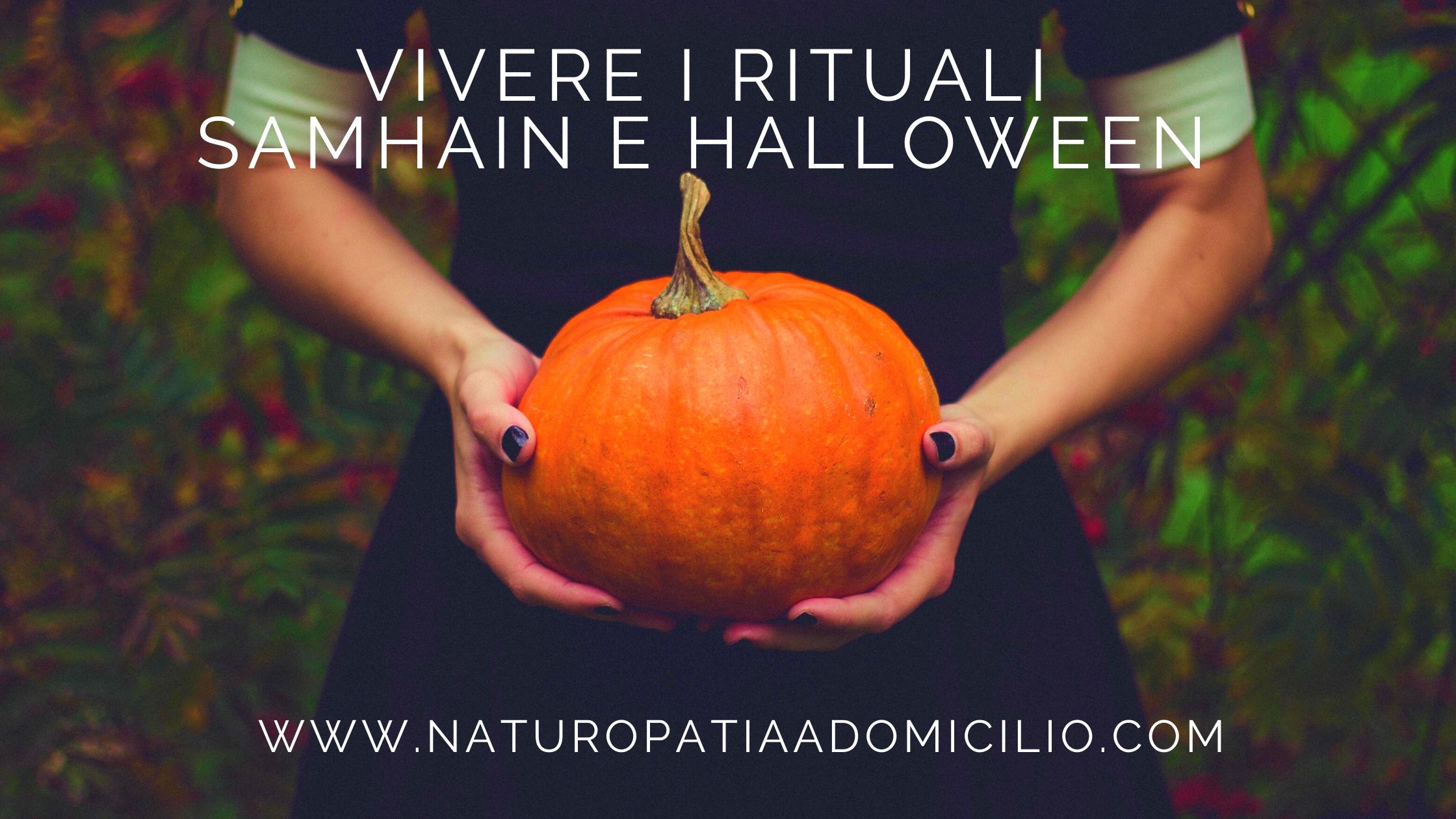 Vivere I Rituali: Samhain E Halloween